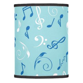 Singin the Blues Musical Pattern Lamp Shade