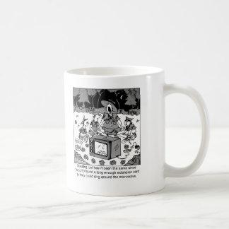 Singing Around the Microwave Coffee Mug