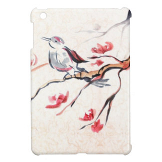 Singing Bird Background Cover For The iPad Mini