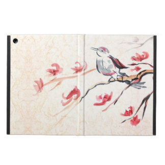 Singing Bird Background iPad Air Cover