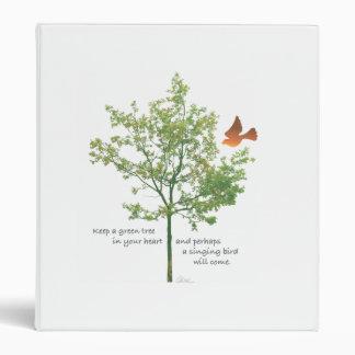 Singing Bird binder