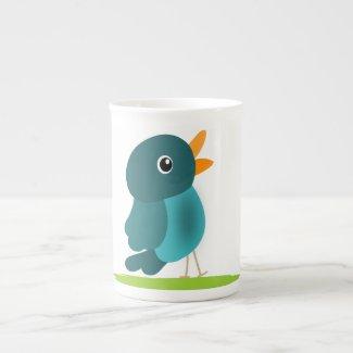 Singing Bird Bone China Mug