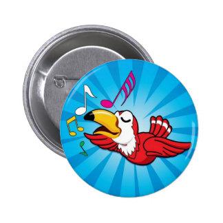 Singing Bird Button