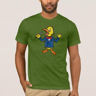 Singing Bird Mens T-Shirt