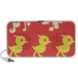 Singing Birds Mp3 Speakers