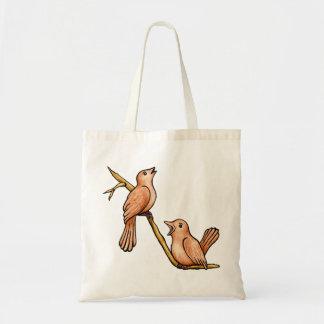 Singing Birds Tote Bag