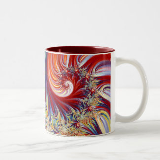 Singing blossom Two-Tone coffee mug