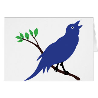 Singing Bluebird Cards