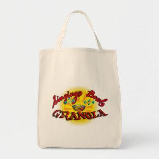 Singing Bowl Granola Tote Bag