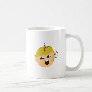 Singing Boy Classic White Coffee Mug