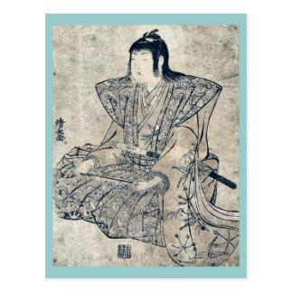 Singing by Torii, Kiyonaga Ukiyoe Postcard