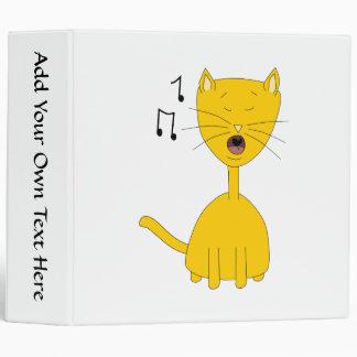 Singing Cat. Binder