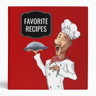 Singing Chef Favorite Recipes Binder