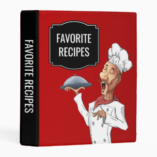 Singing Chef Favorite Recipes Mini Binder