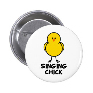 Singing Chick Button