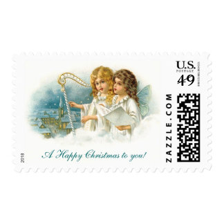 Singing Christmas Angels Stamps