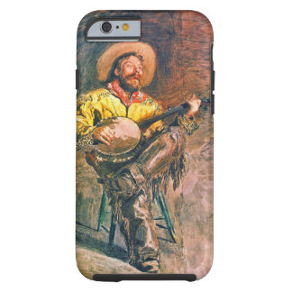 Singing Cowboy 1890 Tough iPhone 6 Case