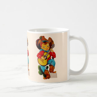 Singing Cowboy Kid Coffee Mug