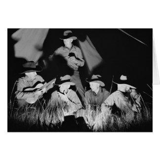 Singing Cowboys, 1939 Card