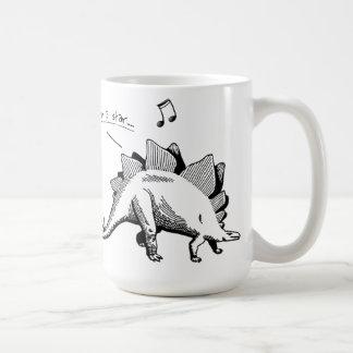 Singing Dinosaur Mug