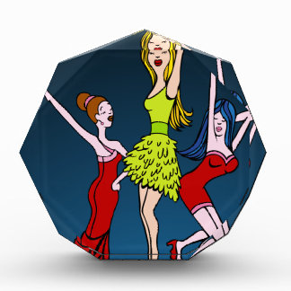 Singing Diva Musical Artist Cartoon Character Award