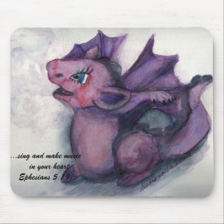 Singing Dragon Mouse Pad