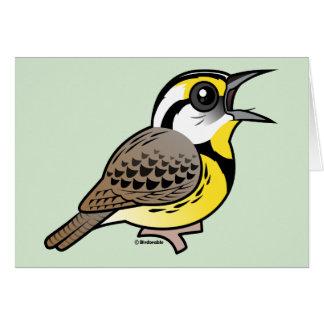 Singing Eastern Meadowlark Cards