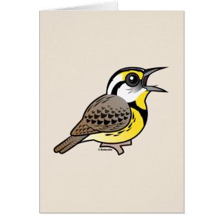 Singing Eastern Meadowlark Greeting Cards