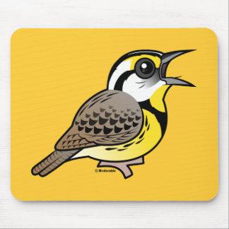 Singing Eastern Meadowlark Mouse Pad