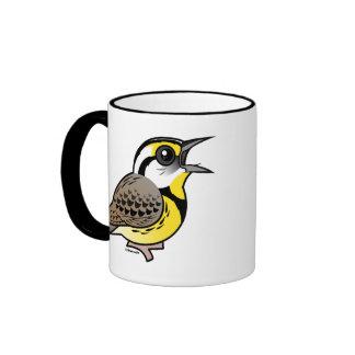 Singing Eastern Meadowlark Mugs