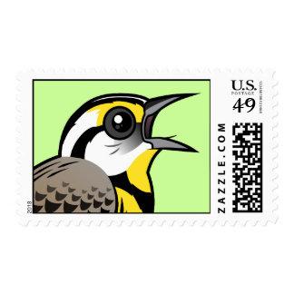 Singing Eastern Meadowlark Stamp