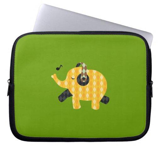 Singing Elephant Laptop Sleeves