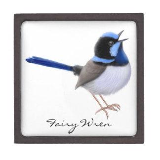 Singing Fairy Wren Wild Bird Premium Gift Box