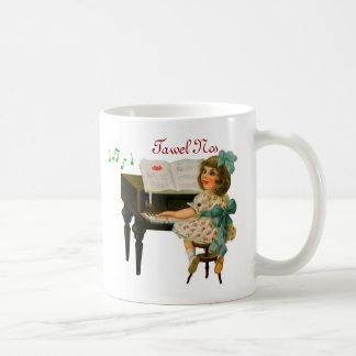 Singing Girl Holiday Mug