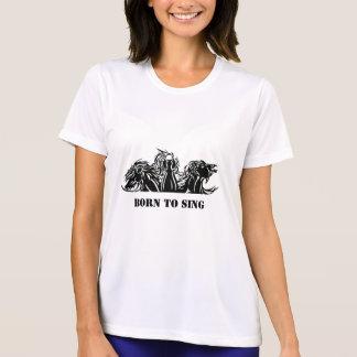 singing horses, Born To Sing T-Shirt