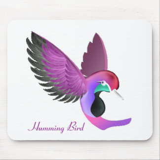 Singing Humming Bird Mouse Pad