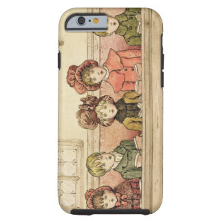 Singing in church (w/c on paper) tough iPhone 6 case
