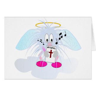 Singing in Heavens Choir Card