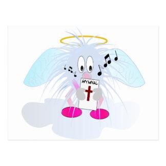 Singing in Heavens Choir Postcard
