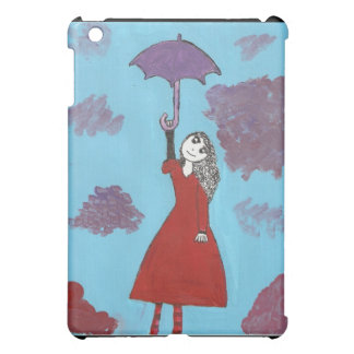 Singing in the Clouds, Gothic Umbrella Girl iPad Mini Covers