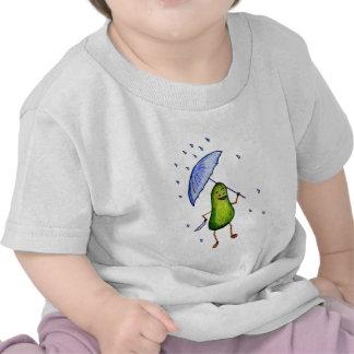 Singing in the Rain Avocado Item T Shirt