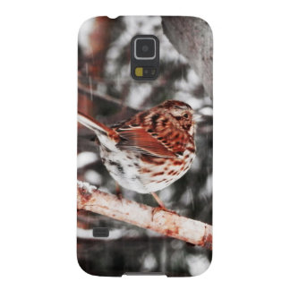 Singing In The Snowfall Galaxy S5 Cover