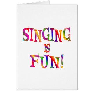 Singing is Fun Cards