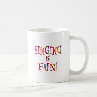 Singing is Fun Coffee Mugs