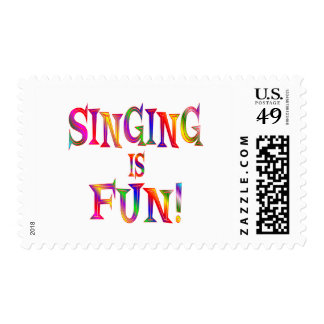 Singing is Fun Stamps