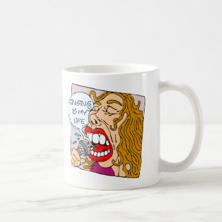 Singing Is My Life Funny Mug
