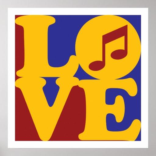 Singing Love Poster