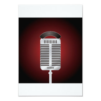 Singing Microphone Invitations