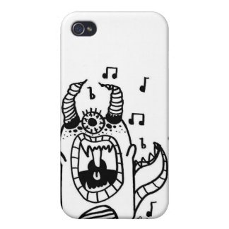 Singing monster case case for iPhone 4