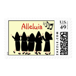 "Singing Nuns Postage Stamps ""Alleluia"" Adorable"